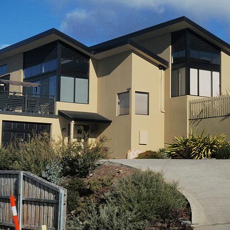 Kane Hall rendering and texture applicators in Hobart Tasmania.
